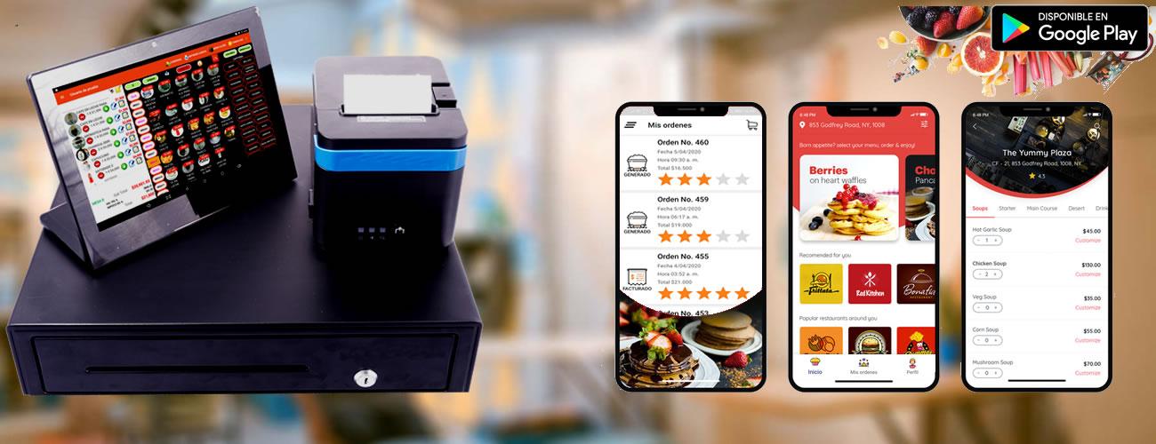 Software Punto de Venta para restaurantes, pizzerías, cafeterías y demás.